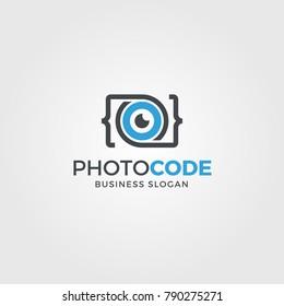 photography / camera Logo - Photo code