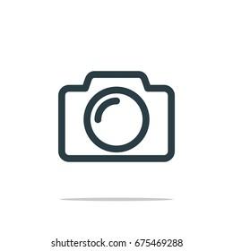 Photography Icon Logo Template