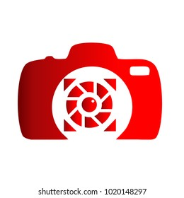 Photography Icon Vector Logo Template