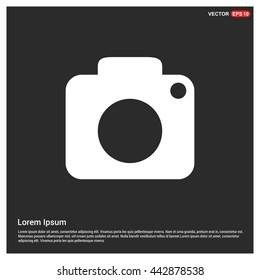 Photography icons. photo camera icon