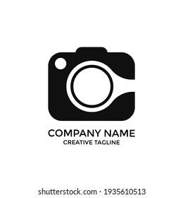 photography logo design. photo and camera icon symbol. eps 10