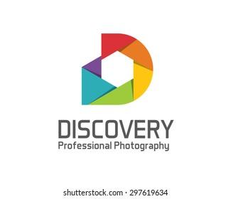 Photography logo design vector template. Camera lens symbol vector . Digital Photo  design vector. Simple clean design photography logo vector.