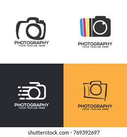 Photography Logo Set Vector