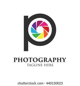 Photography Logo Stock Vector template.