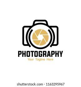 Photography Logo. Vector eps 10