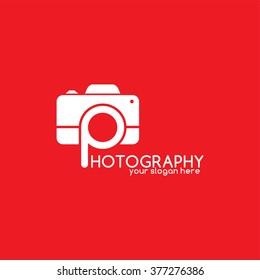photography logotype - logo template