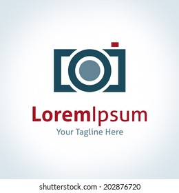 Photography professional logo company lens brand icon