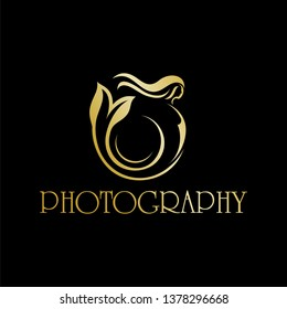 Photography underwater logo templates and mermaid concept new