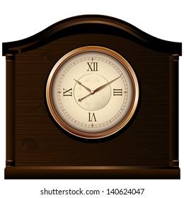 Photorealistic vector clock