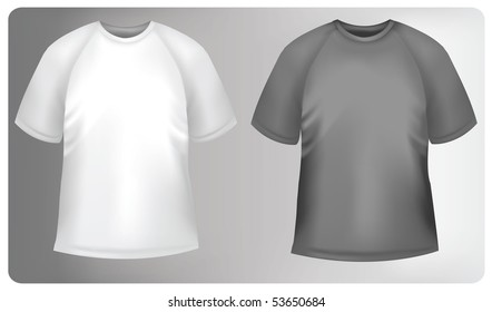 Photo-realistic vector illustration. Sporty polo shirt design template.