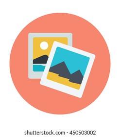 Photos Vector Icon