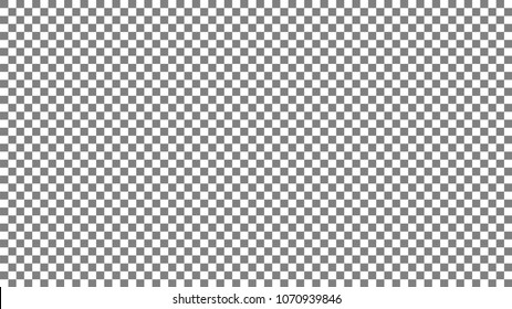 Photoshop background 1920x1080 ppi. Gray and white squares background. Gray and white cage. Chess background. Photoshop cage pattern. Vector illustration EPS10