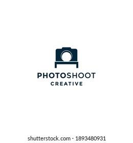 photoshot logo vector icon illustration
