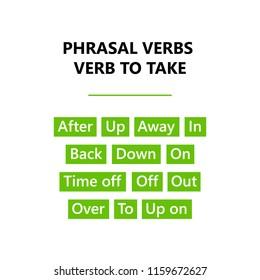 Phrasal Verbs Images, Stock Photos & Vectors | Shutterstock
