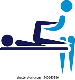 Physical therapy - abstract icon