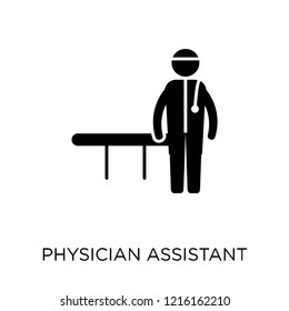Physician Assistant icon. Physician Assistant symbol design from Professions collection. Simple element vector illustration on white background.