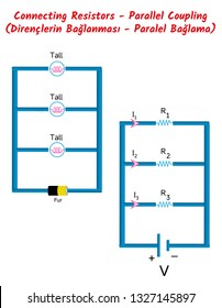 Physics - Connecting Resistors - Parallel Coupling