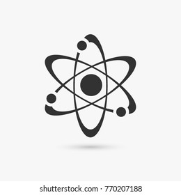 Physics equation icon isolated. Flat pictogram internet concept. Trendy simple vector symbol for web site design or button to mobile app.