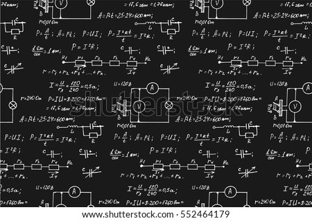 physics math electronic engineering mathematics equation のベクター