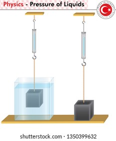 Physics - Pressure, Archimedes Laws, Question and Answer templates