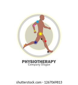 Physiotherapy logo design