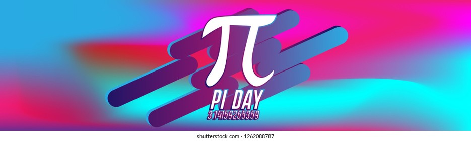 pi day is an annual celebration of the mathematical constant π (pi). Pi Day is observed on March 14 since 3, 1, and 4 are the first three significant digits, label or banner with colorful background