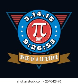 Pi Day Humor T-shirt Typography Graphics, Vector Illustration