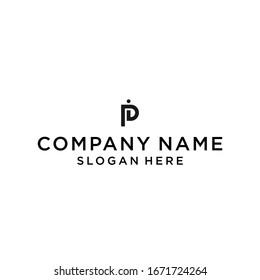 pi logo icon design vector