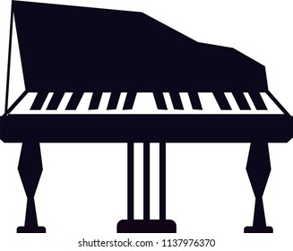 Pianino vector icon