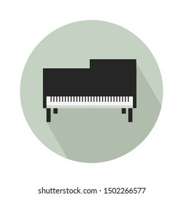 piano icon - From Multimedia, Camera and Photography icons set