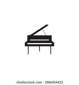 Piano icon vector design illustration