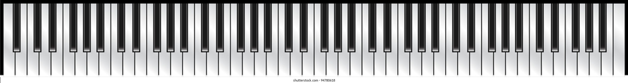 piano keyboard standard 88 key