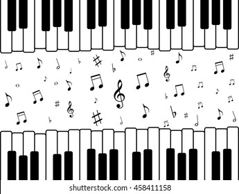 Piano Wallpaper Images Stock Photos Vectors Shutterstock