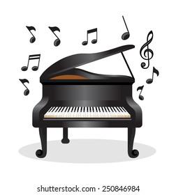 piano cartoon images  stock photos   vectors shutterstock frame vector png flame vectors