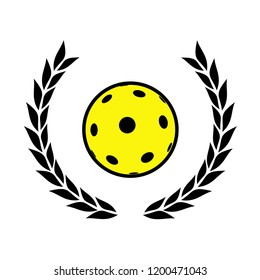 pickleball or floorball victory symbol