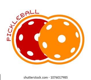 pickleball icon design