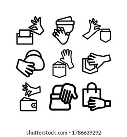 pickpocket icon or logo isolated sign symbol vector illustration - Collection of high quality black style vector icons
