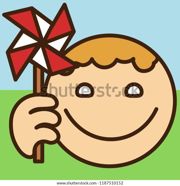 Emoji Windmill