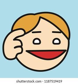 Stupid Emoji Images, Stock Photos & Vectors | Shutterstock