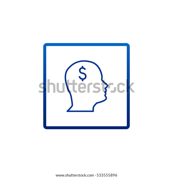 Pictograph of money icon