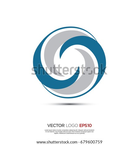Pictograph Wave Icon Logo Identity Designs Stock Vector Royalty