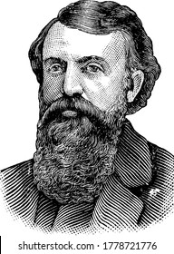 The picture depicts Dwight Lyman Moody, also known as D. L. Moody, was an American evangelist and publisher connected with the Holiness Movement, who founded the Moody Church and North field School ,