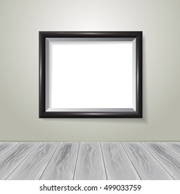 Picture Frame. Vector template for your presentations.