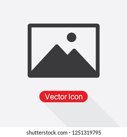 Picture icon, Image Icon Vector Illustration Eps10