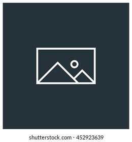 Picture icon, Vector