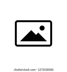 Picture icon vector. photo gallery icon vector