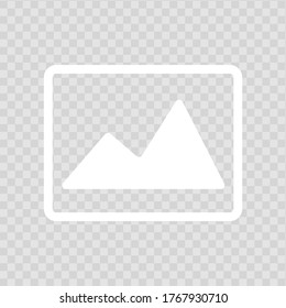 Picture icon vector , stock vector illustration flat design style, eps10