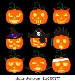 picture illustration of the pumpkin icon