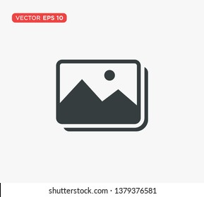 Picture Image Icon Vector Illustration