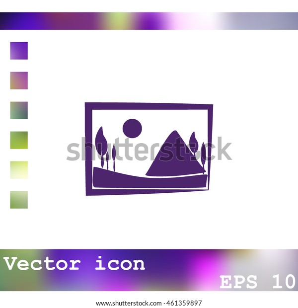 Picture vector icon